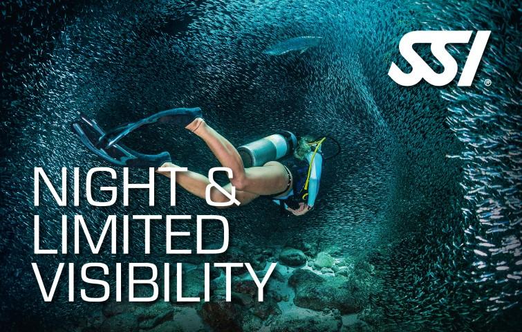 Nachttauchen Night & Limited Visibility
