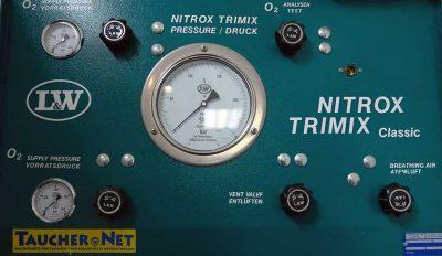 Pressluft, Nitrox, Trimix