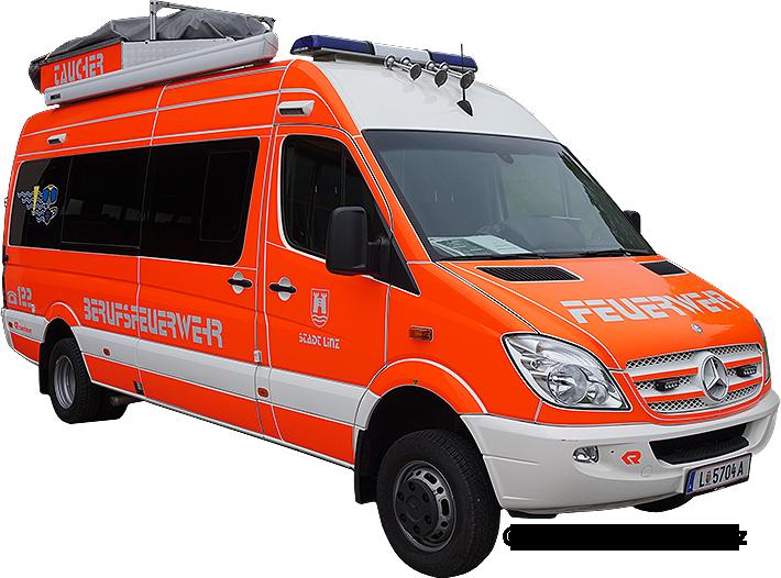 Tauchfahrzeug Berufsfeuerwehr Linz