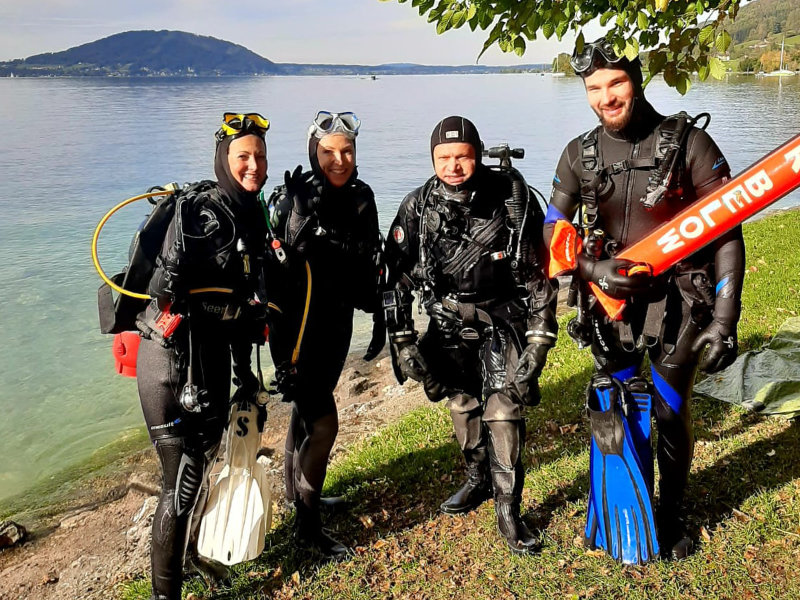 Deep Diving Attersee