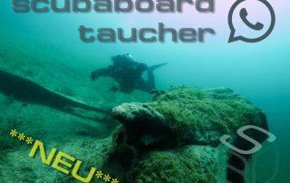 ScubaBoard Taucher WhatsApp Gruppe